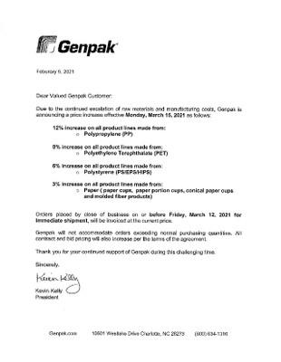 GenPak- March 2021