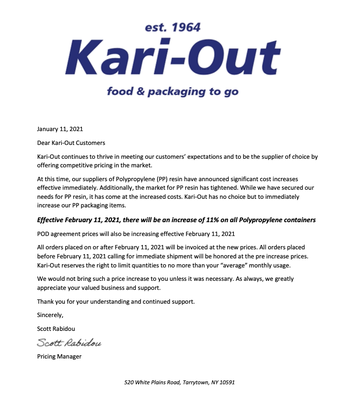 Kari-Out February 2021