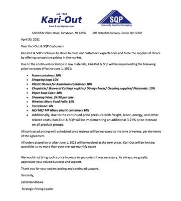 Kari Out- June 2021