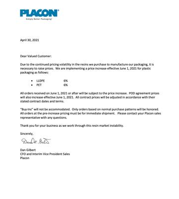 Placon- May 2021