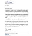 Sabert- April 2021